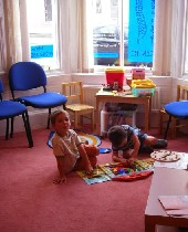 A Child playing at our centre on Miller Road